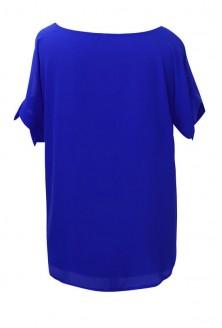 Chabrowa szyfonowa bluzka - LARISS