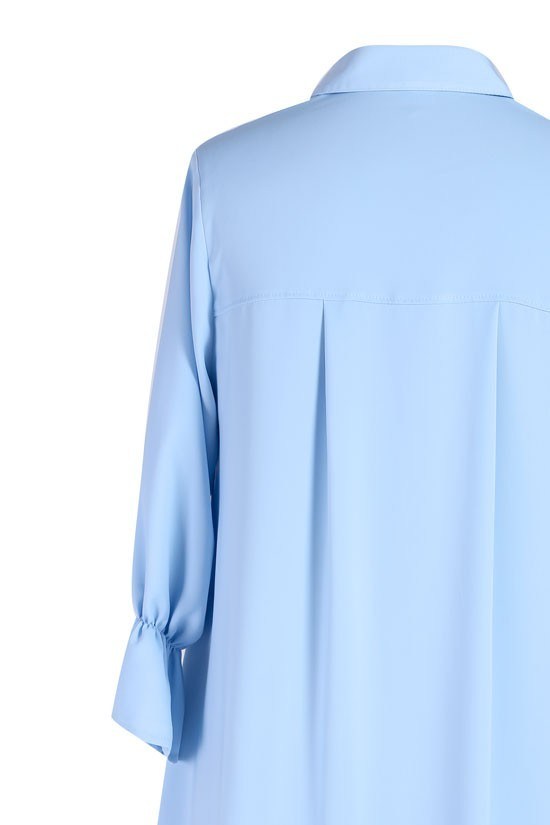 Jasno niebieska koszula damska ANNABEL rękaw 34