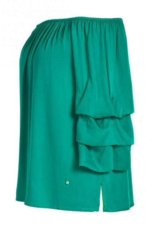 Zielona bluzka z szerokimi rękawami CISSY