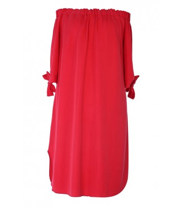 Czerwona sukienka hiszpanka - MARITA