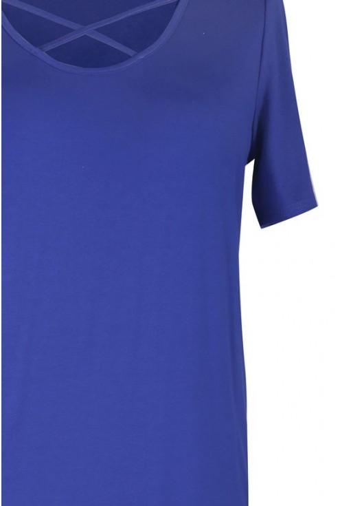 CHABROWA bluzka z krzyżykiem w dekolcie NICOLA
