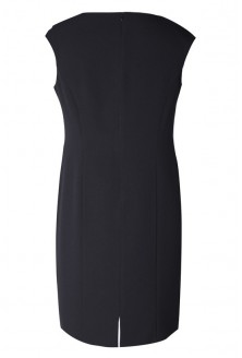 Czarna sukienka z kokardką ROKSANA