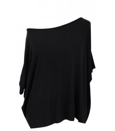 Czarna bluzka oversize DAGMARA