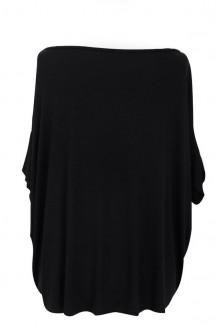Czarna bluzka oversize w sklepie XL-ka