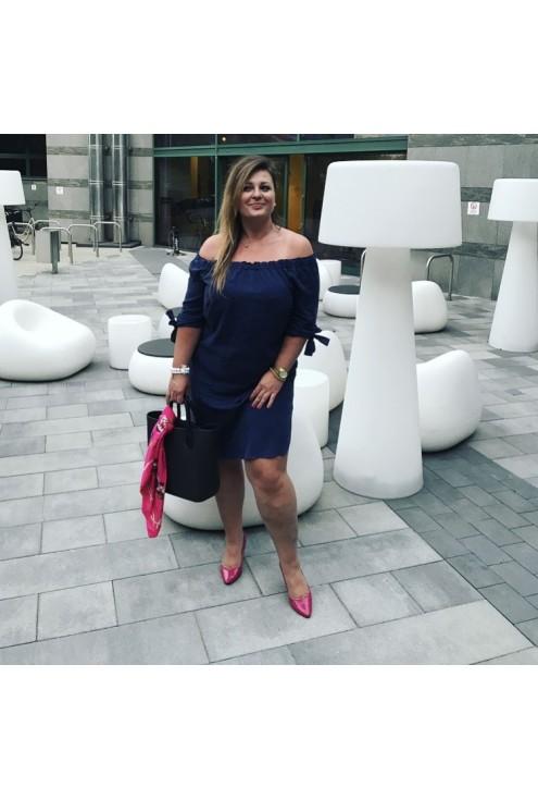 Miodowa sukienka hiszpanka – MARITA