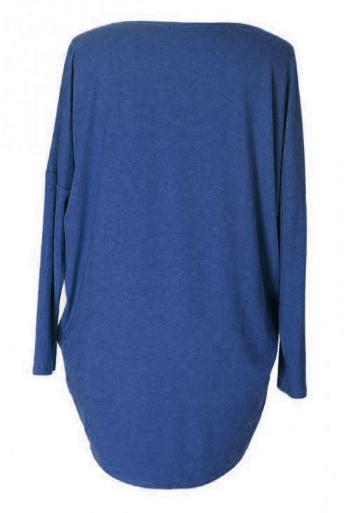 CHABROWA bluzka tunika BASIC (ciepły materiał)