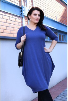 JEANSOWA sukienka plus size CHARLOTTE II