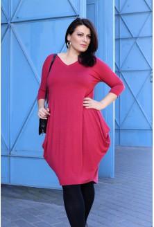 MALINOWA sukienka plus size CHARLOTTE II