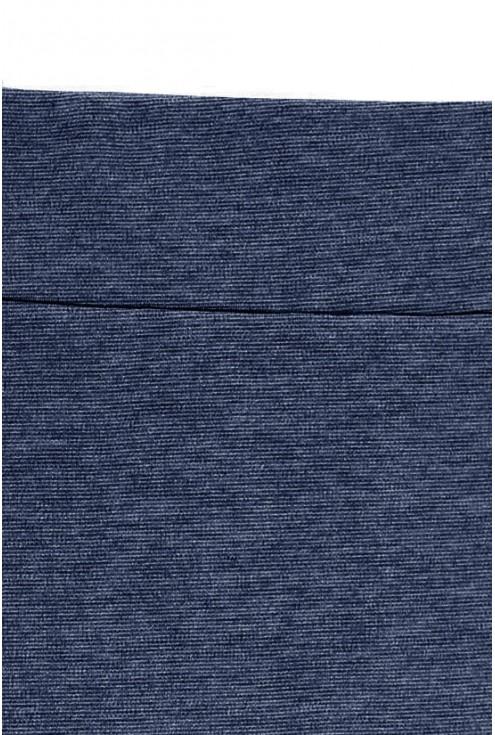 Dzianinowa spódniczka w kolorze JEANSOWM– AUDREY