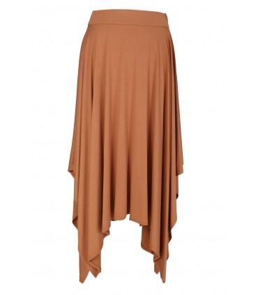 Camelowa spódnica dzianinowa VICTORIA