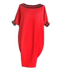 Sukienka ze ściągaczem WHITNEY - kolor czerwony