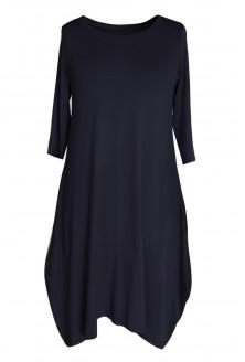 Czarna dzianinowa sukienka HANNAH