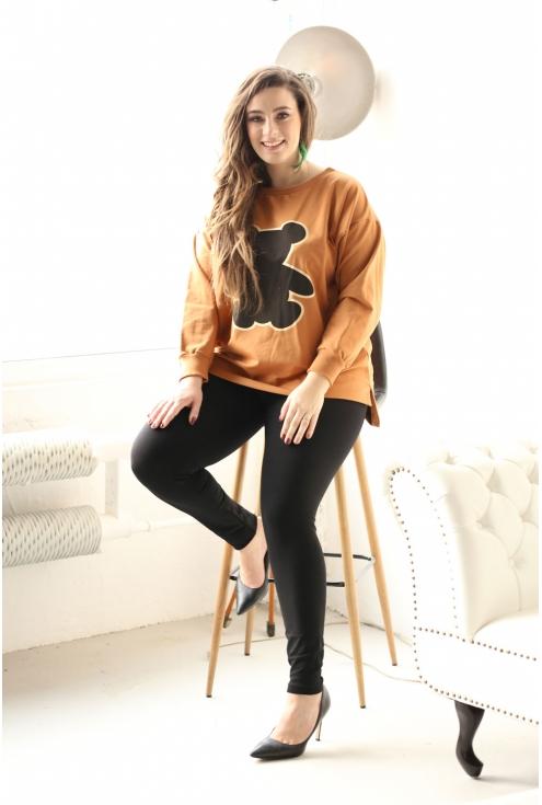 Camelowa bluza MIŚ