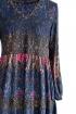Kolorowa rozkloszowana sukienka RYAN (Indie)