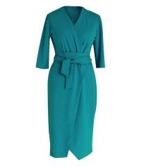 MORSKA sukienka z wiązaniem - VENEZIA