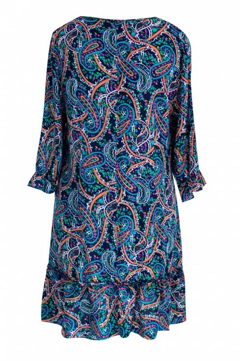 Kolorowa sukienka / tunika WZÓR PINA