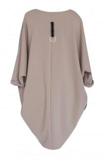 Camelowa sukienka / tunika oversize ROSEMARY