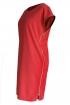 Czerwona sukienka z suwakami EDITH
