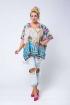 Tunika z kolorowym wzorem - AMANDA