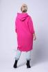 Różowa długa bluza LARA