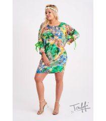 Tunika/Sukienka z wzorem - SANTI PRINT