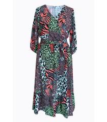 Sukienka ze zwierzęcym wzorem LAYLA