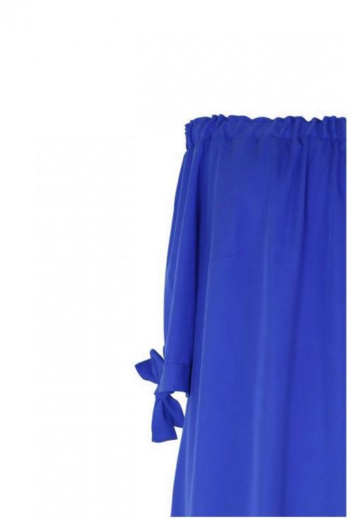 Chabrowa sukienka hiszpanka - MARITA