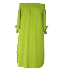 Limonkowa sukienka hiszpanka – MARITA