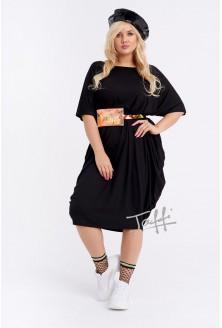 fa25686b4e Sukienka oversize czarna - WIJA