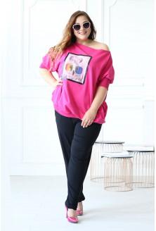 Różowa bluza z sową WEEKEND