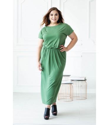 Zielona sukienka maxi Valentia