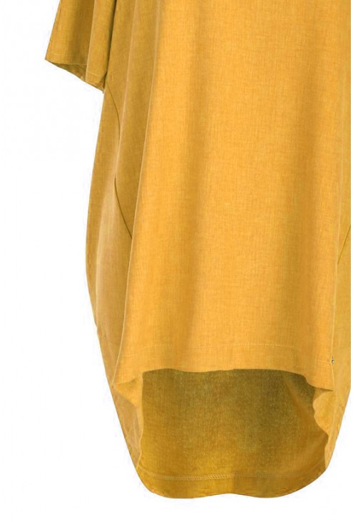 Tunika ściągana na plecach ADELINE - kolor miodowy