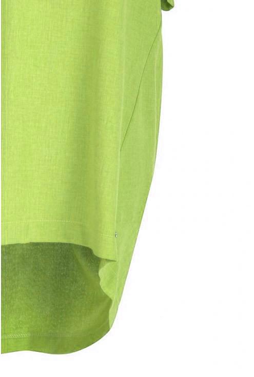 Tunika ściągana na plecach ADELINE - kolor limonkowy