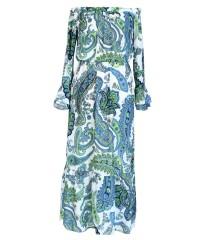 Sukienka Maxi z wzorem SI' FIORI
