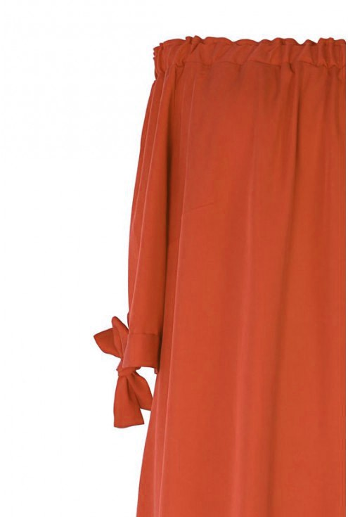 RUDA sukienka hiszpanka - MARITA