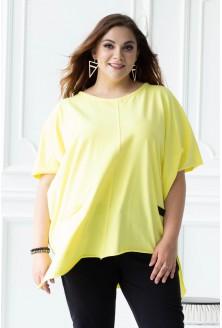 Cytrynowa bluzka/tunika JULIETTA