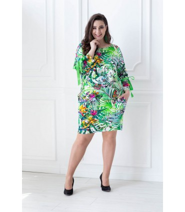 Tunika/Sukienka wzór SAFARI - SANTI PRINT