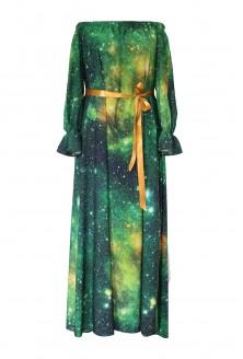 zielona sukienka pandora galaxy xxl