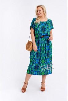 Sukienka maxi z wzorem - GRAND PRINT