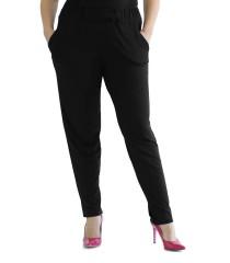 Przewiewne dzianinowe spodnie z kieszeniami SCARLETT
