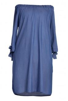 sukienka hiszpanka Sofia kolor jeansowy
