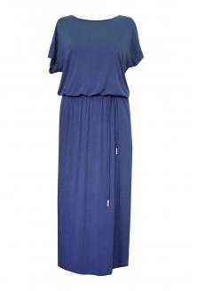 jeansowa sukienka maxi plus size