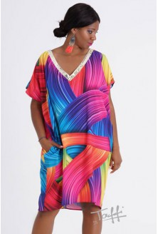 kolorowa sukienka fonetti