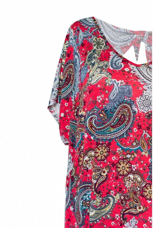 detal sukienki z kokardką 2