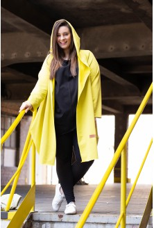 żółta narzutka felicia - test foto