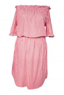 sukienka paski xxl plus size