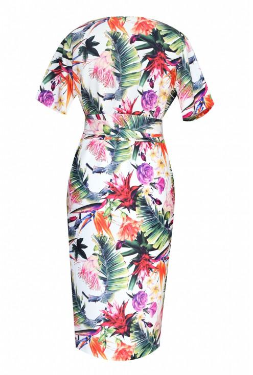 tył sukienki w kwiaty venezia