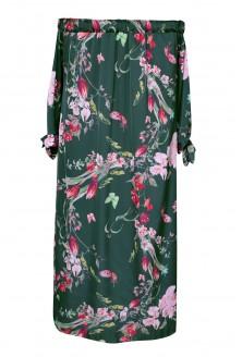 Zielona sukienka w dużych rozmiarach plus size w sklepie XL-ka.pl