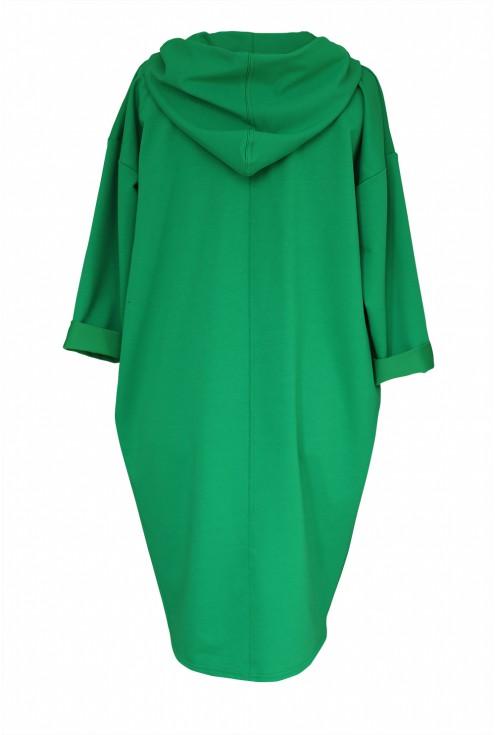 zielona bluza xxl plus size
