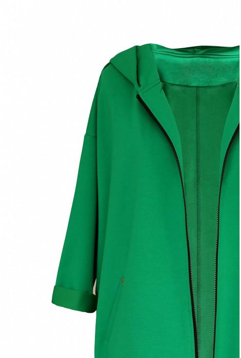 zielona długa bluza xxl